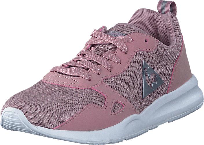 Le Coq Sportif Lcs R600 W Feminine Mesh Pale Mauve/Old Silver, Kengät, Sneakerit ja urheilukengät, Sneakerit, Violetti, Naiset, 37