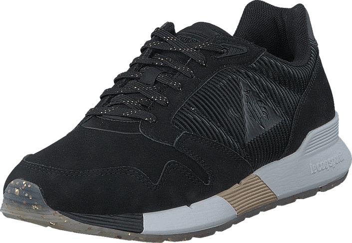 Le Coq Sportif Omega X Black, Kengät, Sneakerit ja urheilukengät, Sneakerit, Musta, Naiset, 36