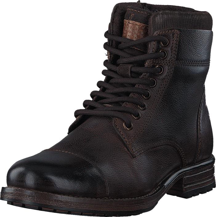 Senator 451-3367 Premium Dark Brown, Kengät, Bootsit, Kengät, Ruskea, Miehet, 44