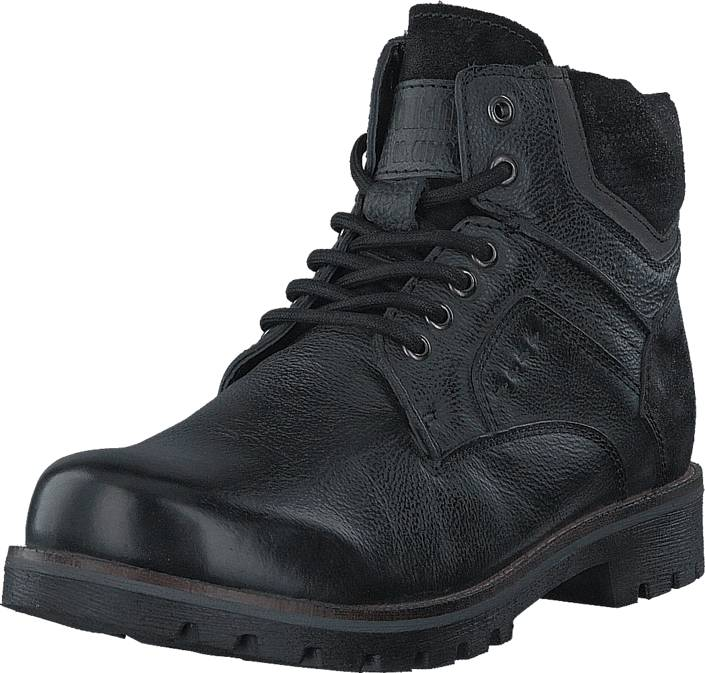Senator 451-8001 Premium Warm Lining Black, Kengät, Bootsit, Kengät, Harmaa, Musta, Miehet, 41