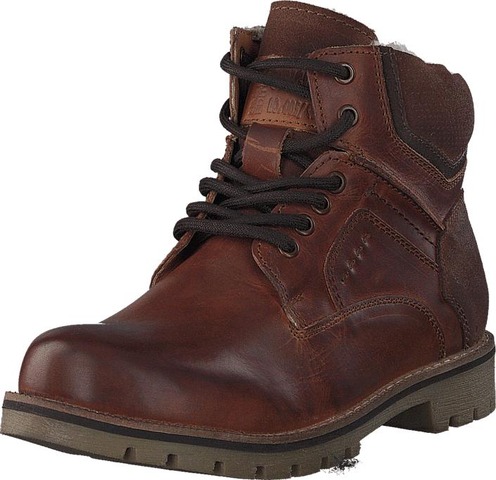 Senator 451-8001 Premium Warm Lining Cognac, Kengät, Bootsit, Chelsea boots, Ruskea, Miehet, 43