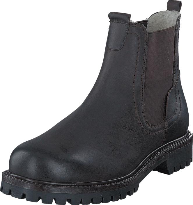 Senator 479-5011 Warm Lining Dark Brown, Kengät, Bootsit, Chelsea boots, Violetti, Miehet, 40