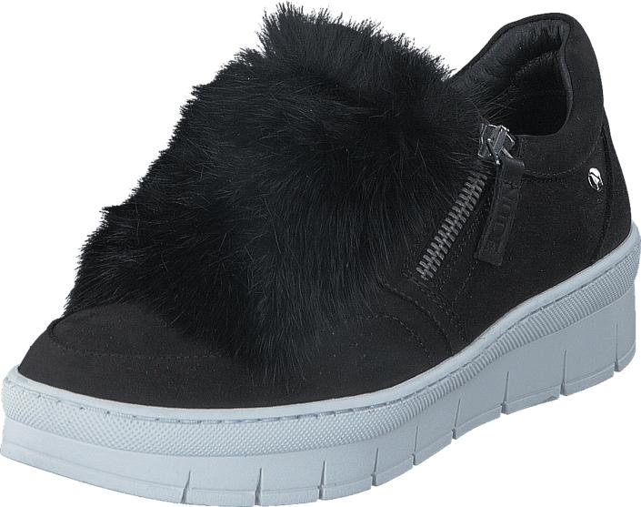 Nude of Scandinavia Hilda White Sole Fur Mohair Nero, Kengät, Sneakerit ja urheilukengät, Sneakerit, Violetti, Naiset, 36