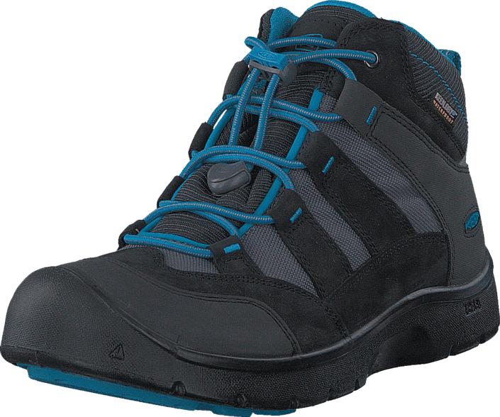 Keen Hikeport Mid Wp Youth Black /Blue Jewel, Kengät, Sneakerit ja urheilukengät, Chukka Sneakerit, Harmaa, Unisex, 35