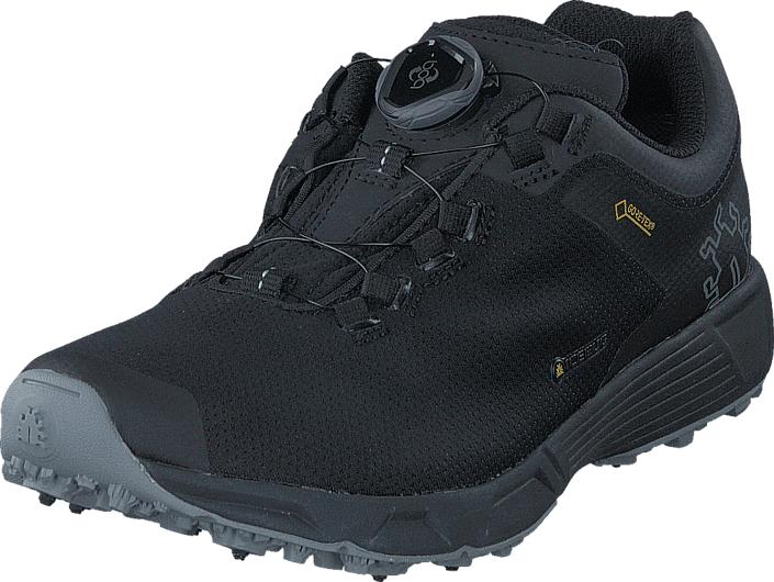 Icebug DTS3 M BUGrip® GTX Carbon/Black, Kengät, Sneakerit ja urheilukengät, Tennarit , Harmaa, Miehet, 44