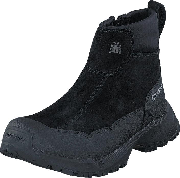 Icebug Metro W Michelin Wic Black, Kengät, Bootsit, Curlingkengät, Musta, Naiset, 36
