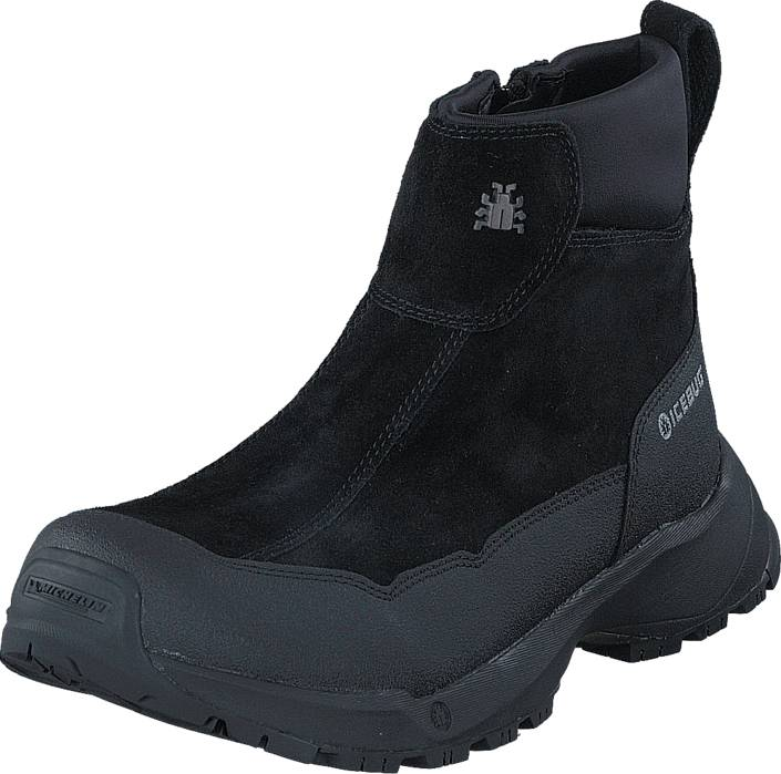 Icebug Metro W Michelin Wic Black, Kengät, Bootsit, Curlingkengät, Musta, Naiset, 40