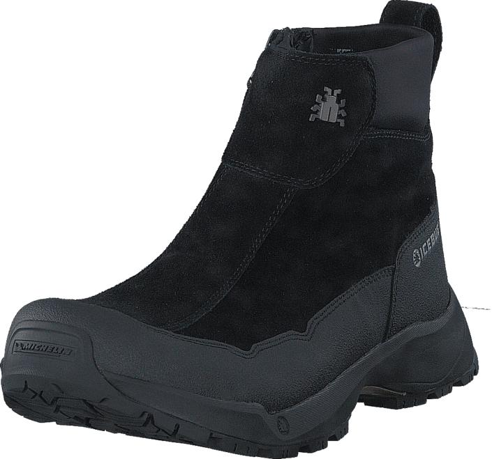 Icebug Metro2 M Michelin Wic Black, Kengät, Bootsit, Vaelluskengät, Musta, Miehet, 45