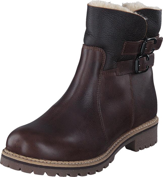 Shepherd Smilla Brown, Kengät, Bootsit, Korkeavartiset bootsit, Ruskea, Naiset, 37