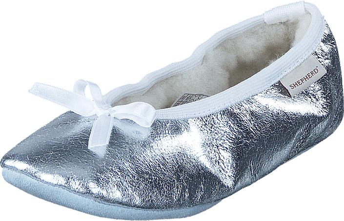 Shepherd Varberg Silver, Kengät, Matalapohjaiset kengät, Ballerinat, Sininen, Unisex, 24