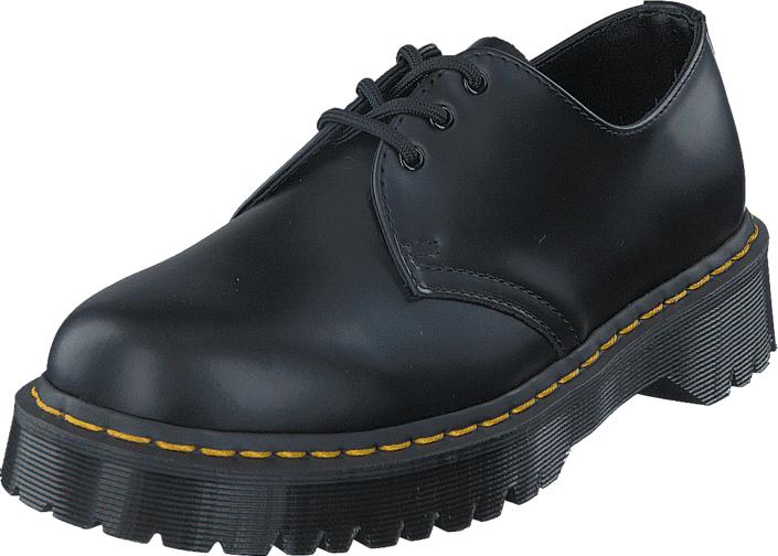 Dr Martens 1461 Bex Black, Kengät, Matalapohjaiset kengät, Juhlakengät, Harmaa, Musta, Unisex, 41