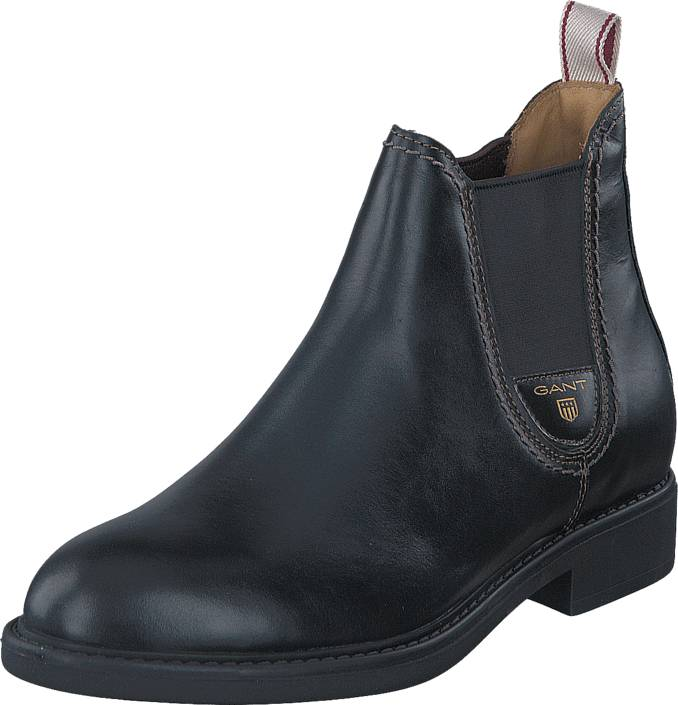 Gant Lydia G00 Black, Kengät, Bootsit, Chelsea boots, Harmaa, Musta, Naiset, 38