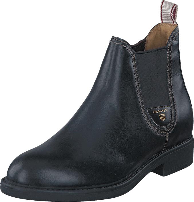 Gant Lydia G00 Black, Kengät, Bootsit, Chelsea boots, Harmaa, Musta, Naiset, 40