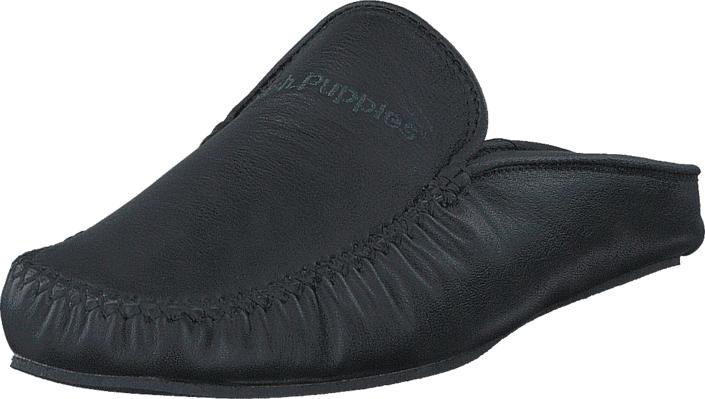 Hush Puppies Slipper Nappa Negro, Kengät, Matalapohjaiset kengät, Loaferit, Harmaa, Violetti, Miehet, 40