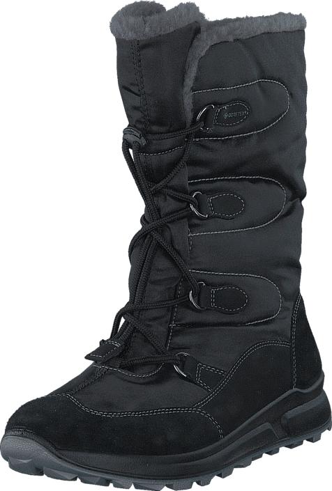Superfit Merida GORE-TEX® Black/Black, Kengät, Saappaat ja saapikkaat, Kumisaappaat, Musta, Unisex, 35