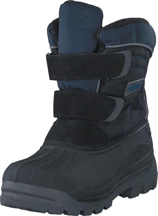 Eskimo Star Black/Blue, Kengät, Bootsit, Kengät, Musta, Unisex, 25