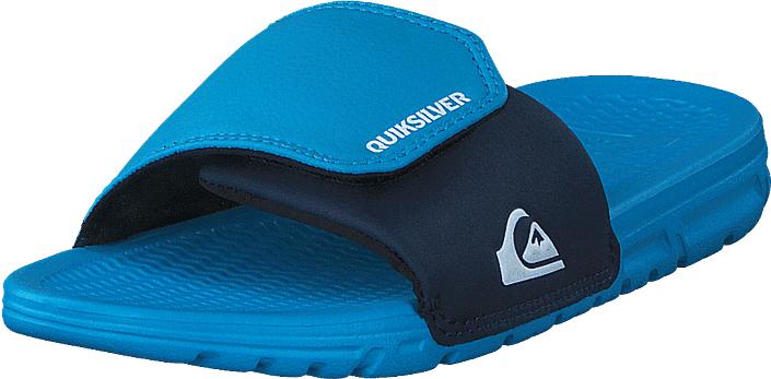 Quiksilver Shoreline Adjust Youth Blue/Blue/Black, Kengät, Sandaalit ja tohvelit, Sandaalit, Turkoosi, Sininen, Unisex, 32