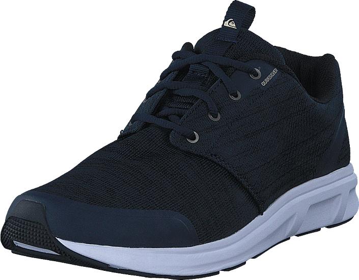 Quiksilver Voyage Textile Blue/Blue/White, Kengät, Sneakerit ja urheilukengät, Sneakerit, Sininen, Musta, Miehet, 40