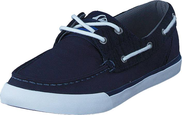 Quiksilver Spar Blue/Blue/White, Kengät, Matalapohjaiset kengät, Loaferit, Sininen, Miehet, 40