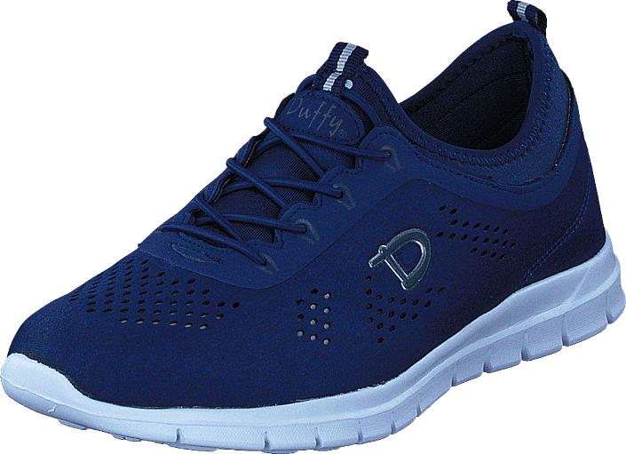 Duffy 79-10152 Navy Blue, Kengät, Sneakerit ja urheilukengät, Tennarit , Sininen, Naiset, 37