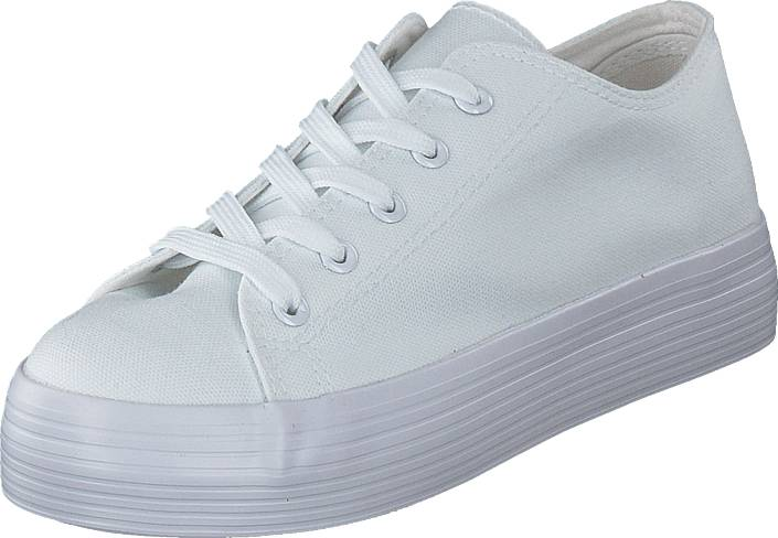 Duffy 95-12125 White, Kengät, Sneakerit ja urheilukengät, Sneakerit, Valkoinen, Naiset, 37