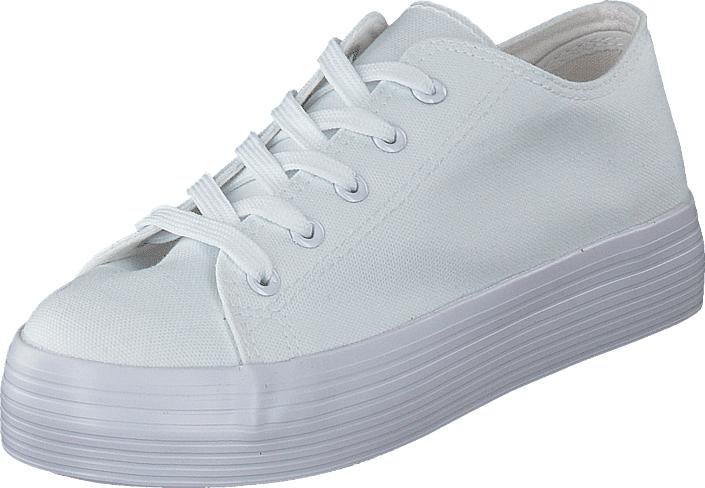 Duffy 95-12125 White, Kengät, Sneakerit ja urheilukengät, Sneakerit, Valkoinen, Naiset, 36