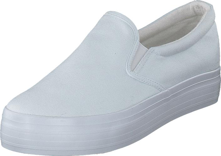 Duffy 95-17522 White, Kengät, Matalapohjaiset kengät, Slip on, Valkoinen, Naiset, 35