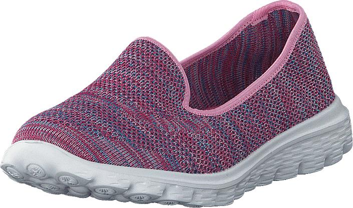 Duffy 86-18001 Purple, Kengät, Matalapohjaiset kengät, Slip on, Vaaleanpunainen, Violetti, Naiset, 41