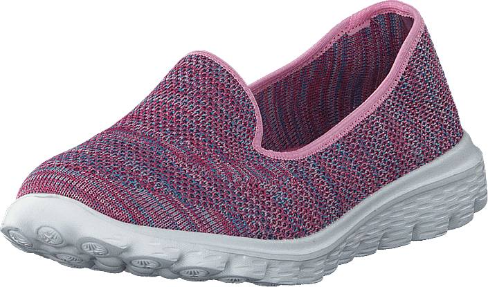 Duffy 86-18001 Purple, Kengät, Matalapohjaiset kengät, Slip on, Vaaleanpunainen, Violetti, Naiset, 37