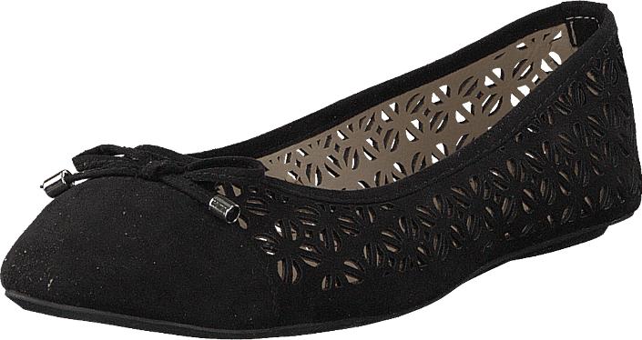 Duffy 92-34111 Black, Kengät, Matalapohjaiset kengät, Ballerinat, Musta, Naiset, 37
