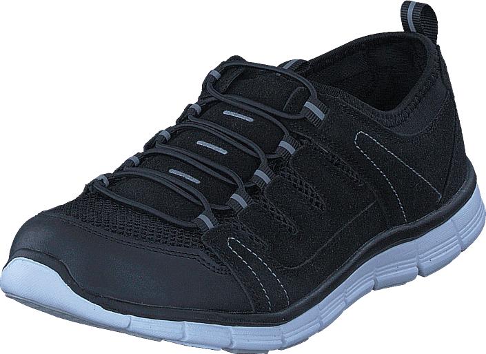 Polecat 435-2311 Comfort Sock Black, Kengät, Sneakerit ja urheilukengät, Urheilukengät, Musta, Unisex, 40