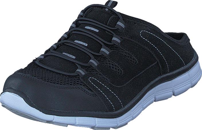 Polecat 435-1309 Comfort Sock Black, Kengät, Sandaalit ja tohvelit, Tohvelit, Musta, Unisex, 39