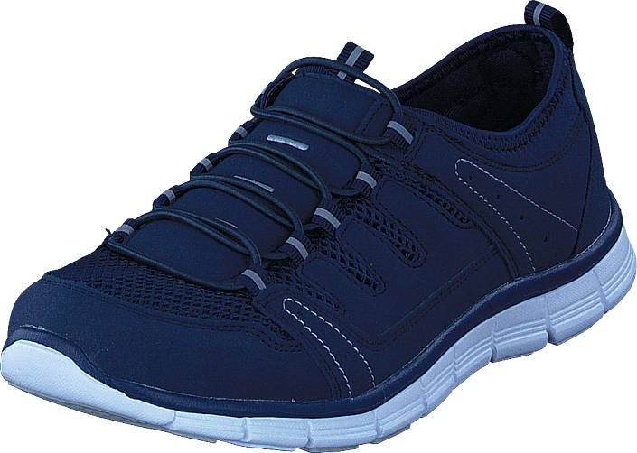 Polecat 435-2311 Comfort Sock Navy Blue, Kengät, Sneakerit ja urheilukengät, Urheilukengät, Sininen, Unisex, 46