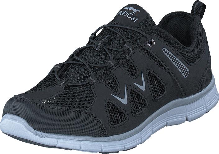 Polecat 435-3407 Comfort Sock Black, Kengät, Sneakerit ja urheilukengät, Tennarit , Musta, Unisex, 36