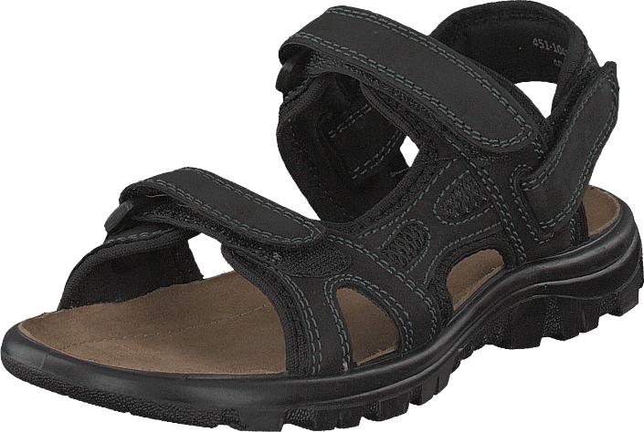 Polecat 451-1043 Black, Kengät, Sandaalit ja tohvelit, Sporttisandaalit, Musta, Unisex, 39