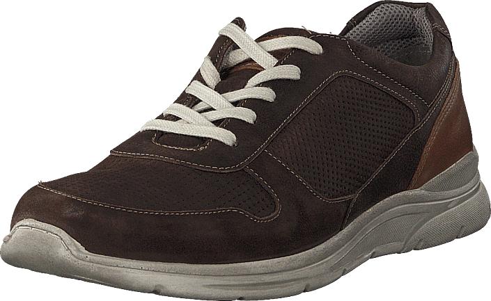 Senator 451-4203 Comfort Sock Dark Brown, Kengät, Sneakerit ja urheilukengät, Sneakerit, Ruskea, Miehet, 40
