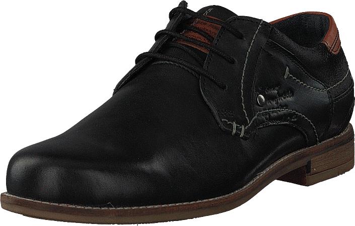 Senator 451-1909 Premium Black, Kengät, Matalapohjaiset kengät, Juhlakengät, Musta, Miehet, 40