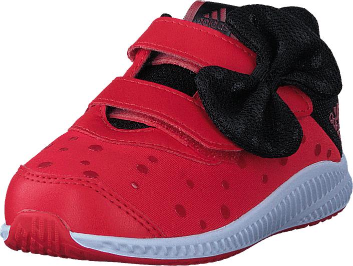 adidas Sport Performance Dy Minnie Fortarun Cf I Hi-Res Red/White/Core Black, Kengät, Sneakerit ja urheilukengät, Tennarit , Punainen, Unisex, 24