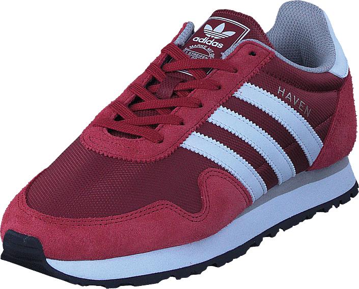 adidas Originals Haven Mystery Red/Wht/Clear Granite, Kengät, Sneakerit ja urheilukengät, Sneakerit, Vaaleanpunainen, Violetti, Miehet, 40