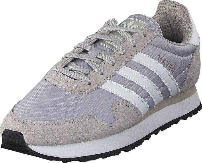 adidas Originals Haven Lgh Solid Grey/White/Granite, Kengät, Sneakerit ja urheilukengät, Sneakerit, Harmaa, Violetti, Miehet, 43