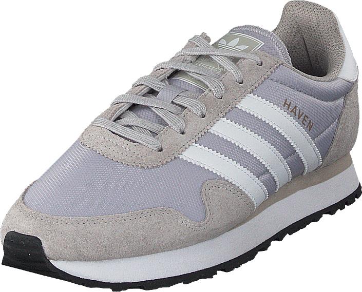 adidas Originals Haven Lgh Solid Grey/White/Granite, Kengät, Sneakerit ja urheilukengät, Sneakerit, Harmaa, Violetti, Miehet, 44