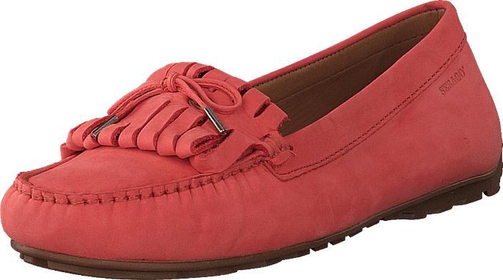 Sebago Harper Kiltie Tie Coral Nubuck, Kengät, Matalapohjaiset kengät, Slip on, Punainen, Naiset, 37