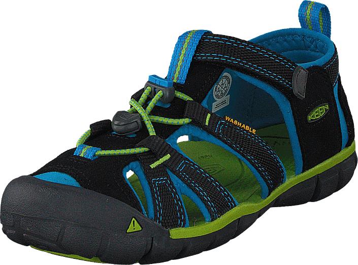 Keen Seacamp II Cnx Jr Black/blue Danube, Kengät, Sandaalit ja tohvelit, Sporttisandaalit, Musta, Unisex, 36