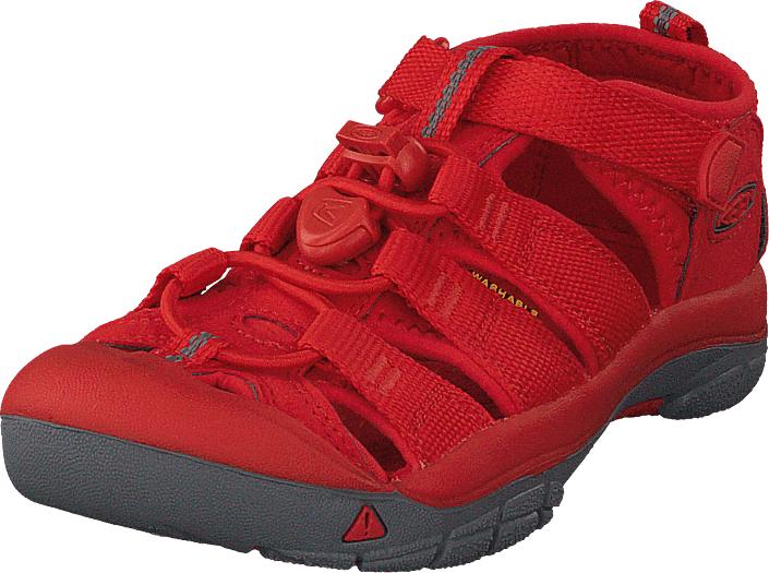 Keen Newport H2 Kids Firey Red, Kengät, Sandaalit ja tohvelit, Sporttisandaalit, Punainen, Unisex, 24