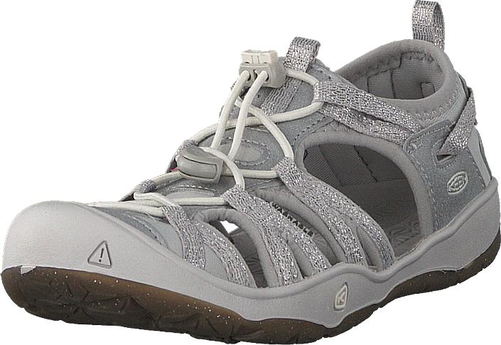 Keen Moxie Sandal Jr Silver, Kengät, Sandaalit ja tohvelit, Sporttisandaalit, Harmaa, Unisex, 32