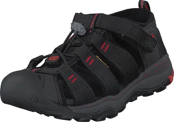 Keen Newport Neo H2 Kids Black/firey Red, Kengät, Sandaalit ja tohvelit, Sporttisandaalit, Harmaa, Musta, Unisex, 24