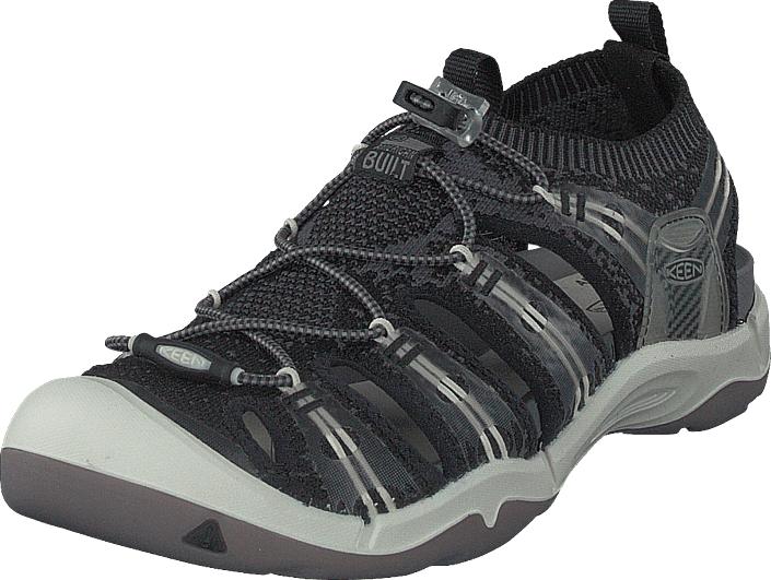 Keen Evofit One Black/white, Kengät, Sandaalit ja tohvelit, Sporttisandaalit, Musta, Miehet, 40
