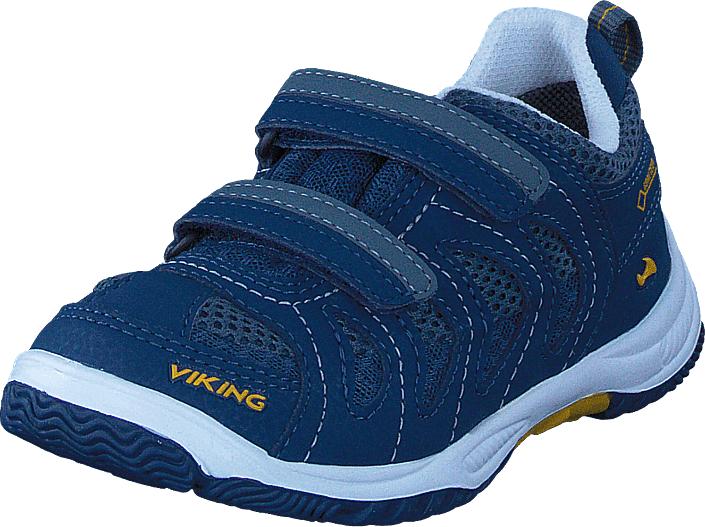 Viking Cascade II Gore-Tex® Petrol/Sun, Kengät, Sneakerit ja urheilukengät, Tennarit , Sininen, Unisex, 23