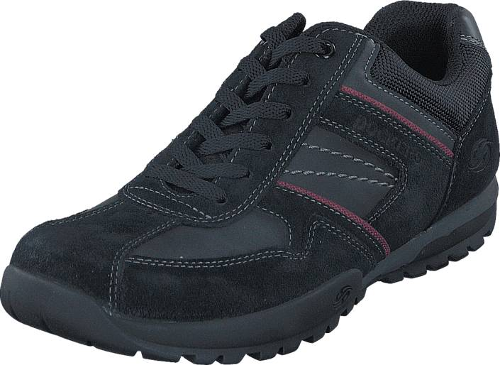 Dockers by Gerli 36HT020204120 Black, Kengät, Sneakerit ja urheilukengät, Tennarit , Harmaa, Miehet, 40