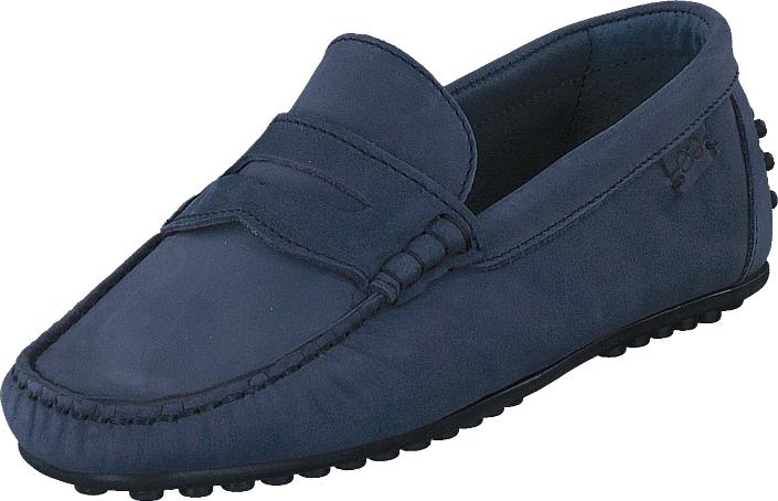 Marstrand Driving Loafer Nbk Blue, Kengät, Matalapohjaiset kengät, Loaferit, Sininen, Miehet, 41